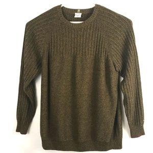 Columbia Mens Sweater XXL Brown Long Sleeve